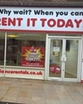 Adam Green runs his Local Appliance Rentals business in Birkenhead