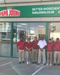 Denton Papa John's Opening is Fifth for Ambitious Franchisee