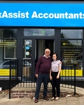 Nick and Pat Brook Celebrate Opening of Third TaxAssist Accountants Shop